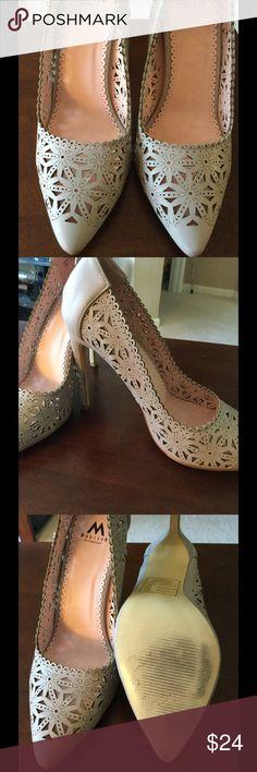 Selling this Grey cutout heels on Poshmark! My username is: plfrederick. #shopmycloset #poshmark #fashion #shopping #style #forsale #Shoe Dazzle #Shoes