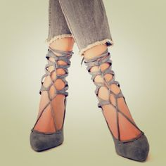 """Jeffrey Campbell x Free People Grey Suede Heels Hierro Heel style. Grey Suede stilettos that lace up over the ankle with a zipper in the back for easy take off. 4"""" inches high. Brand new and never worn. Jeffrey Campbell Shoes Heels"""