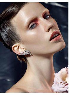 Melinda Szepesi by Alberto Tommaso Badalamenti for Harper's Bazaar Hong Kong November 2014  beauty