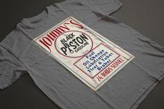 Johnnys Retro Fashion, Retro Vintage, Fashion Beauty, Sweatshirts, Long Sleeve, Sleeves, Mens Tops, T Shirt, Black