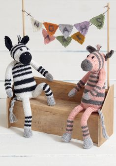 Noahs Arc - Zany Zebras in Sirdar Cotton DK. Discover more Patterns by Sirdar at LoveKnitting. The world's largest range of knitting supplies - we stock patterns, yarn, needles and books from all of your favorite brands.