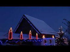 #HeiligAbend daheim #Weihnachten, mein #Weihnachtshaus mit #Weihnachtsbeleuchtung - #YouTube