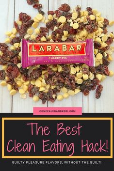 Clean eating can be tough. Cue the Lara Bar. The clean eating essential snack for minimal guilt and maximum snacking pleasure! Vegetarian Snacks, Healthy Desserts, Healthy Dinner Recipes, Healthy Treats, Delicious Recipes, Clean Eating Tips, Clean Eating For Beginners, Clean Eating Snacks, Whole 30 Snacks