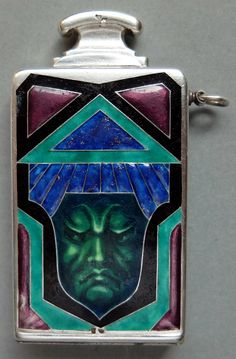 this is a French petrol lighter of the Art Deco period, the name of the lighter is 'CHIC'.
