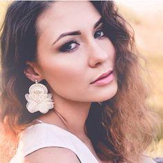 nikuske - Soutache art design by Veronika Ropoviková / SAShE. Diamond Earrings, Drop Earrings, Wedding Jewelry, Design, Fashion, Wedding Bride, Wedding, Moda, Fashion Styles
