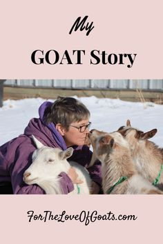 Welcome to the first episode of my new podcast, For the Love of Goats! If you want to know how I got started with goats and then accidentally became a goat expert, here's the story! Breeding Goats, Raising Goats, Starting A Podcast, Baby Goats, Hobby Farms, Livestock, Farming, Homesteading, Art Nouveau