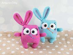 Crochet Easter Bunny - Free amigurumi pattern