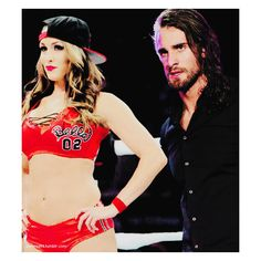 neth bellins manip ❤ liked on Polyvore featuring manips and wwe couples
