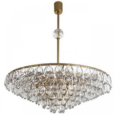 QZ6617 7-TIER TEARDROP CHANDELIER  This piece is customize-able to your size, finish and color preference and ships free worldwide!!
