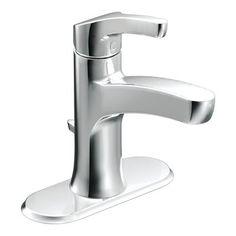 Moen L84733 Danika Single Handle Watersense Bathroom Sink Faucet