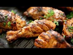 How To Make Chicken Peri Peri | African Barbeque Chicken Recipe | The Bombay Chef - Varun Inamdar - YouTube