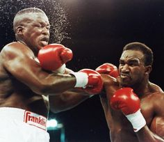Evander Holyfield knocked James 'Buster' Douglas onto Queer Street to become heavyweight champion 22 years ago today