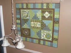 * Sew we Stitch: Our guest Block(er) today is Rebecca with coordinated strip blocks