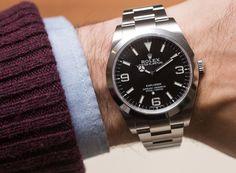 Rolex Explorer 214270 Watch For 2016 Hands-On