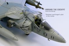 AV-8B HARRIER 162972 VMA-231, Operation Desert Storm 1991  *This is a ready-made diecast model by Hobby Master Limited.