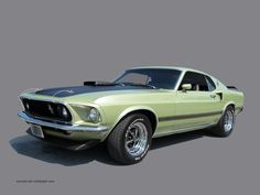 1969 Ford Mustang Mach 1 Wallpaper - http://wallpaperzoo.com/1969-ford-mustang-mach-1-wallpaper-35505.html  #1969FordMustangMach1