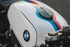 Vintage Motorcycles Mark Johnston's BMW cafe racer - When your garage is packed with BMW motorcycles spanning seven decades— it's safe to say that your hobby has morphed into an obsession. Cafe Bike, Bmw Cafe Racer, Cafe Racers, Bmw Motorcycles, Vintage Motorcycles, Custom Motorcycles, Skyteam Ace, Bmw K100, Bmw Classic Cars