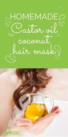 . . Castor Oil Coconut Revitalizing Hair Mask The Castor Coconut Oil hair mask is ideal if you're shedding or if you're trying to grow stronger and fuller hair.
