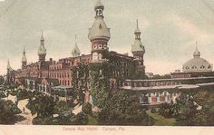 Antique Tampa Bay Hotel Postcard