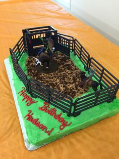 This will be perfect for Colt's birthday! Rodeo Birthday Parties, Cowboy Birthday Cakes, Rodeo Party, Cowboy Cakes, Cowboy Party, Birthday Ideas, Twin Birthday, First Birthdays, Pastries