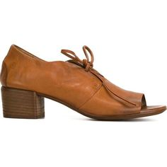 Marsall Bout Pointu Chaussures À Lacets - Marron 9fZ69kxvQ