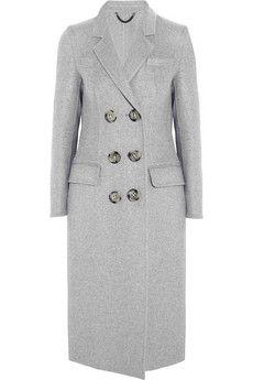 Burberry Prorsum Cashmere-felt coat | NET-A-PORTER