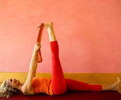 Yoga for Runners: Reclined Pyramid Pose