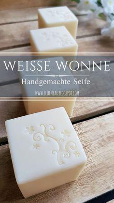 Weisse Wonne - Handgemachte Seife #seife #seifeselbermachen #soap #soapmaking #handmadesoap #naturalsoap #naturseife #seifenbar