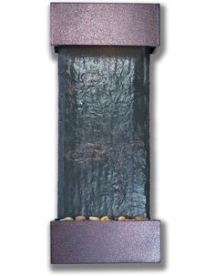 Small Nojoqui Falls with Copper Vein Trim Fountain by Bluworld