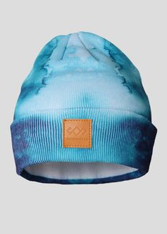 SheShreds Tie Dye Knit Hat