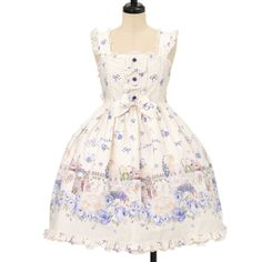 ♡ ALICE and the PIRATES ♡ Blooming Garden jumper skirt http://www.wunderwelt.jp/products/detail9432.html ☆ ·.. · ° ☆ How to buy ☆ ·.. · ° ☆ http://www.wunderwelt.jp/user_data/shoppingguide-eng ☆ ·.. · ☆ Japanese Vintage Lolita clothing shop Wunderwelt ☆ ·.. · ☆ #sweetlolita