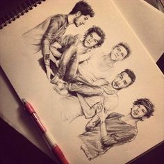1d>>how do people draw that well? I can't even draw a circle with out messing up lol ;P