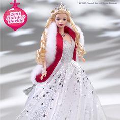 2001 Holiday Barbie #holidaybarbie