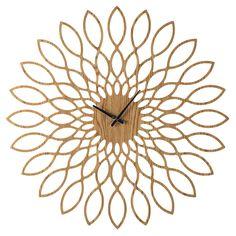 Horloge en bois D 88 cm SANAE