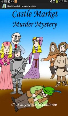 Difficulty: 3/5*<p>Mystery # 8 of 10 in the Castle series!<p>A fur trader has been murdered in the middle of a busy marketplace! Can you figure out who did it before your friends do?<p>This mystery is Manor Mysteries' second of the medieval themed series. Knights, Damsels in Distress, Kings, Castles, and backstabbing brutality!<p>Get six friends together to solve this mystery! Act out your roles, and take your party to a whole new level. <p><br>Optimal group size: 6<br>Optimal age range: 13…
