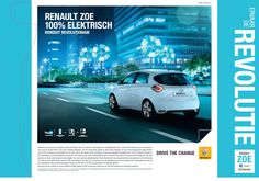 [Only available in the Netherlands] @Layar Certified Partner #Limebizz augmented an ad for Renault, an international automobile manufacturer. The car in the image is their electric model Zoe. By scanning the image with the free Layar App, you see a 3D model of the car, displaying both the exterior and interior, depending on your viewing angle. #3D