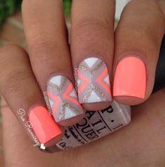 Summer birthday nails!