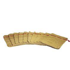 Nikolaus-Sack 10er Set Zehn Säckchen haben genau die richtige Größe für kleine Geschenke.
