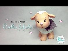 Passo a Passo - Ovelha fofinha! - YouTube Clay Crafts, Arts And Crafts, Dyi Crafts, Sah Biscuit, Biscuits, Polymer Clay, Teddy Bear, Sheep, Tutorials