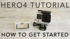Getting Started - Hero 4 Silver and Black.  By far the best video so far for getting started.
