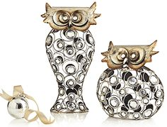 Pier 1 Gem Owls clearly have a wise design