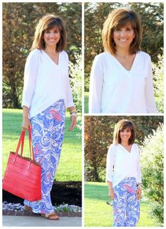 Styling the Palazzo Pant today! I'm so in love with these pants! #palazzopant #graceandbeautystyle #ootd #whatiwore