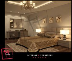 glamours new classic master bedroom