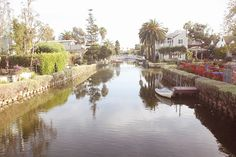 I used to love walking by here. Maybe here?  canals-venice-beach-pelican-07