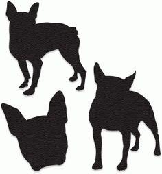Silhouette Design Store - View Design #74475: boston terrier silhouette