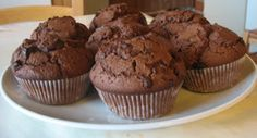 Gluteeniton muffinssi, tuli oikeasti hyviä ja kuohkeita! No Bake Desserts, Healthy Desserts, Finnish Recipes, Dairy Free, Gluten Free, Fodmap Recipes, Low Fodmap, Sweet Tooth, Cupcakes