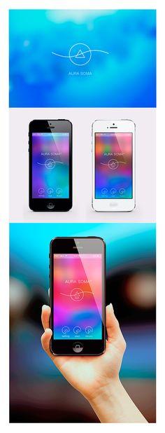 Test Aura Soma (Mobile Interface Design) on Behance