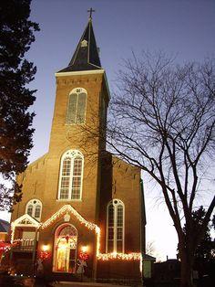 Christmas Country Church Tour Stop St Joseph Catholic Apple Creek MO