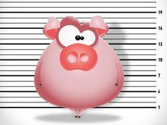 Pig Cartoon Character - Wanted!
