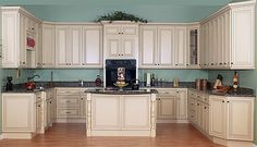 Antique White Kitchen Cabinets With Chocolate Glaze Pict Picture Design White Glazed Kitchen Cabinets Glazed Kitchen Glazed Kitchen Cabinets, Kitchen Cabinets Pictures, Refacing Kitchen Cabinets, Modern Kitchen Cabinets, Kitchen Cabinet Colors, Painting Kitchen Cabinets, Kitchen Paint, Cream Cabinets, Kitchen Colors